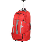 High Sierra Composite Medium 74cm Wheeled Duffel with Backpack Straps Crimson 63217