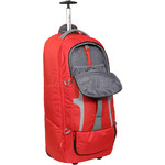 High Sierra Composite Large 84cm Wheeled Duffel with Backpack Straps Crimson 63218 - 3