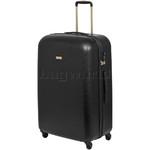 Qantas Mascot Large 75cm Hardside Suitcase Black Q440A