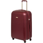 Qantas Mascot Medium 66cm Hardside Suitcase Red Q440B