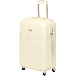 Qantas Mascot Medium 66cm Hardside Suitcase White Q440B