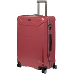 Qantas Cloncurry Large 74cm Hardside Suitcase Red Q390A