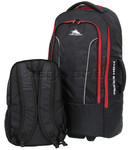 High Sierra Composite Large 76cm Backpack Wheel Duffel & Zip Off Day Pack Black 67996 - 5