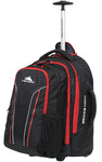 High Sierra Composite Small/Cabin 56cm Wheeled Duffel with Backpack Straps & Zip Off Day Pack Black 67995