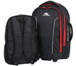 High Sierra Composite Small/Cabin 56cm Backpack Wheel Duffel & Zip Off Day Pack Black 67995 - 5