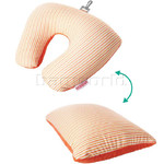 American Tourister Travel Accessories 2 Way Magic Travel Pillow Orange 44997