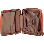 Jump Nice Hardside Small/Cabin 50cm Suitcase Orange J6553 - 4