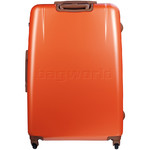 Jump Nice Hardside Suitcase Set of 3 Orange J6553, J6551, J6552 with FREE Go Travel Luggage G2006 - 1