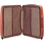 Jump Nice Hardside Suitcase Set of 3 Orange J6553, J6551, J6552 with FREE Go Travel Luggage G2006 - 3