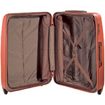 Jump Nice Hardside Suitcase Set of 3 Orange J6553, J6551, J6552 with FREE Go Travel Luggage G2006 - 4