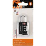 Samsonite Travel Accessories Safe US 3 Combination Lock Black 73270