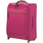 Jump Nice Softside Small 50cm Suitcase Fuchsia J6570