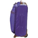 Jump Nice Softside Small 50cm Suitcase Purple J6570 - 2