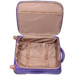 Jump Nice Softside Small 50cm Suitcase Purple J6570 - 3