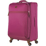 Jump Nice Softside Medium 71cm Suitcase Fuchsia J6572