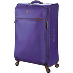 Jump Nice Softside Large 81cm Suitcase Purple J6573