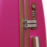 Jump Nice Hardside Medium 66cm Suitcase Fuchsia J6551 - 5