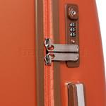 Jump Nice Hardside Suitcase Set of 3 Orange J6553, J6551, J6552 with FREE Go Travel Luggage G2006 - 5