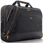 "Solo Urban Ultra Multicase 11""-17.3"" Laptop Briefcase Black BN300"