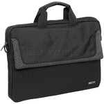 "Solo Sterling 16"" Laptop Slim Briefcase Black LA116"