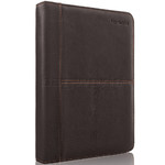 Solo Vintage Leather Folio for iPad 1, 2, 3 & 4 Espresso TA131