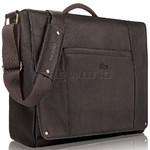 "Solo Vintage 16"" Laptop Leather Messenger Espresso TA502"