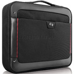 "Solo Sterling 17.3"" Laptop Slim Briefcase Black TL140"