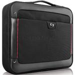 "Solo Sterling 17.3"" Laptop Slim Briefcase Black TL140"