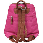 Jump Nice Flat Backpack Fuchsia J6585 - 1
