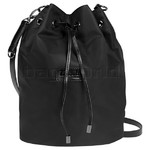 Lipault Lady Plume Bucket Bag Medium Black 73917