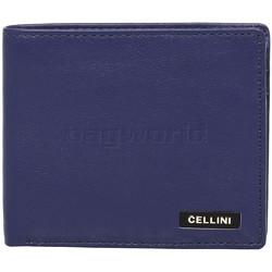Cellini Men's Shelby Leather Wallet Blue M0389