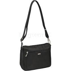 Travelon Classic Anti-Theft Small E/W Crossbody Bag Black 43115