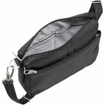 Travelon Classic Anti-Theft Small E/W Crossbody Bag Black 43115 - 4