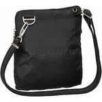 Travelon Classic Anti-Theft Slim Double Zip Crossbody Bag Black 43116 - 1