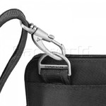 Travelon Classic Anti-Theft Slim Double Zip Crossbody Bag Black 43116 - 4