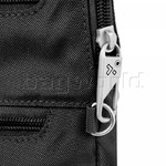 Travelon Classic Anti-Theft Slim Double Zip Crossbody Bag Black 43116 - 6