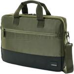"American Tourister Han 15.6"" Laptop & Tablet Portfolio Dark Olive 74940"