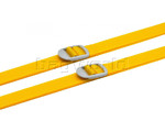 GO Travel 2 Luggage Straps Yellow GO225