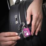 GO Travel Dual Combi/Key TSA Lock Purple GO337 - 2