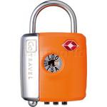 GO Travel Dual Combi/Key TSA Lock Orange GO337 - 1