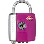 GO Travel Dual Combi/Key TSA Lock Purple GO337 - 1