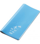 GO Travel Glo Travel Wallet Blue GO310