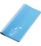 GO Travel Glo Travel Wallet Blue GO310