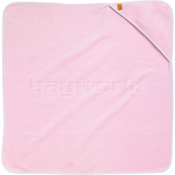 GO Travel Kids Hooded Baby Towel Pink G2665