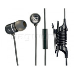 GO Travel Mobile Control Earphones Black GO918