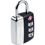 GO Travel Big Wheel TSA Combination Padlock Black GO345