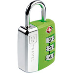 GO Travel Big Wheel TSA Combination Padlock Green GO345