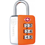 GO Travel Big Wheel TSA Combination Padlock Orange GO345 - 1