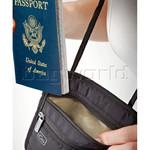 GO Travel Passport Pouch RFID Black GO671 - 3