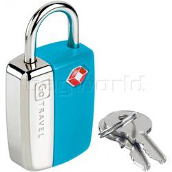 GO Travel Glo Sentry Lock Blue GO338